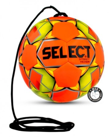Select Street Kicker Fotball Gul/Orange