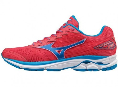 Mizuno Wave Rider 20 Lady Orange/Blå