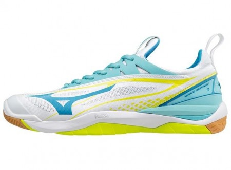 Mizuno Wave Mirage 2 Lady Hvit/turkis